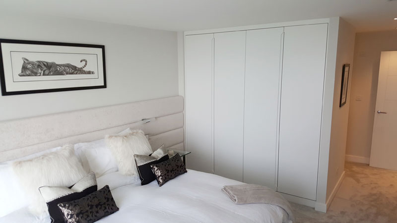 Portfolio image of fitted wardrobes with sliding doors designed and install
