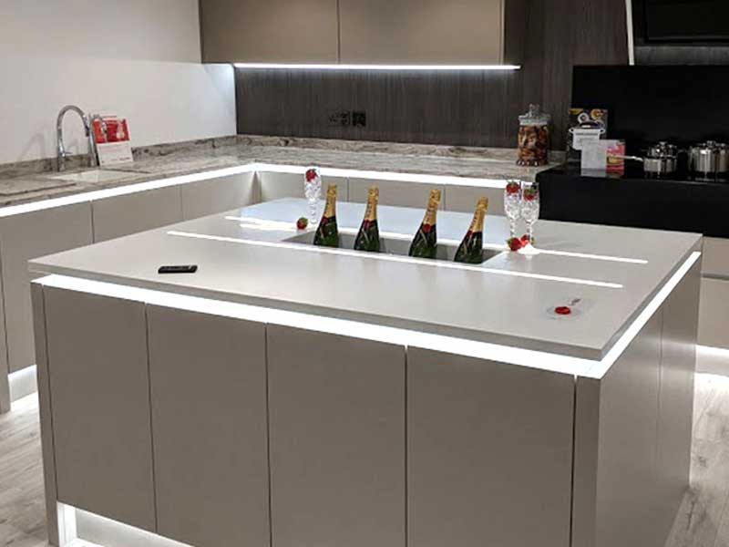 Cheapest solid surface worktops bespoke worktop made out for Corian solid surface countertops prices