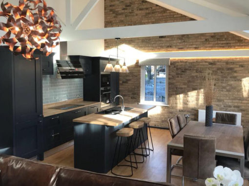 Milbourne Charcoal Shaker Kitchen in Poole, Dorset